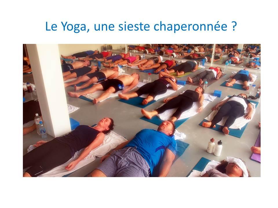 Le Yoga et la sieste