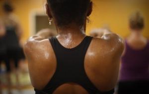 Transpiration tenue de Yoga