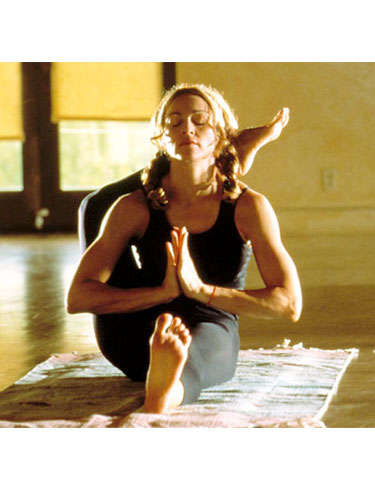 Madonna-Yoga