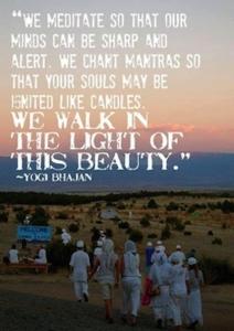 citation de yogi bhajan fondateur du Kundalini Yoga sur la beauté