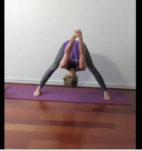 prasaritta-posture