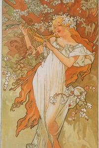 Alfons Mucha le printemps