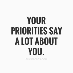 yoga priorités