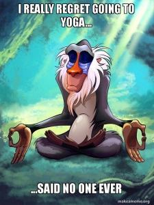 yoga humour