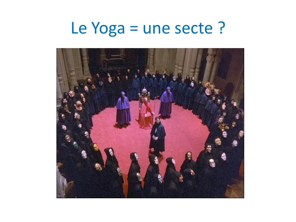 Le Yoga est-ce une religion ou une secte ?