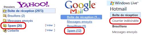 sortir la newsletter des spams