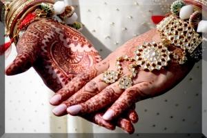 Très belle photo d'un mariage indien