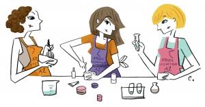 ateliers cosmétiques Aromazone à Paris
