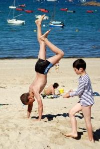 enfants-poirier-plage