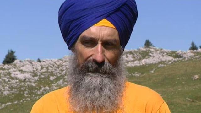 portrait d'Atma Singh, créateur et directeur de Yogi Tea