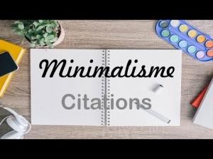 minimalisme-citations