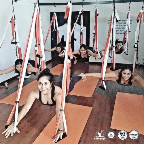 Le flying Yoga