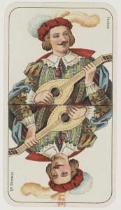 tarot cartes à jouer l'excuse