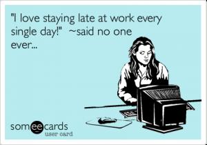 rester-tard-au-travail