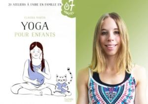 livre yoga pour enfants - Claudia Martin