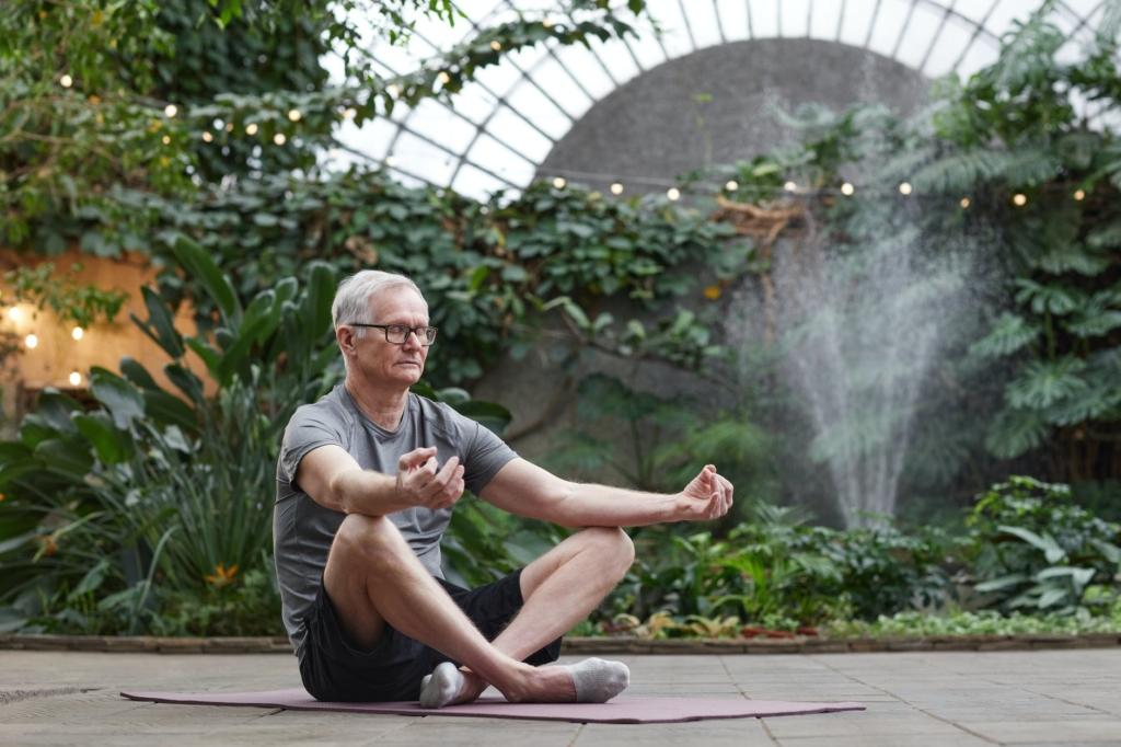 yoga personnes âgées